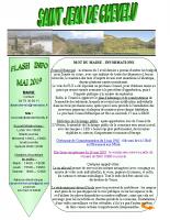Flash Info Mai 2019