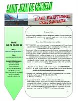 Flash Info COVID19 avril 2020