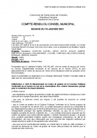 CR conseil municipal 19 janvier 2021