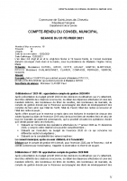 CR conseil municipal 23 février 2021
