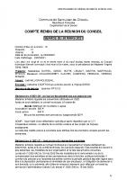 CR conseil municipal 30 mars 2021